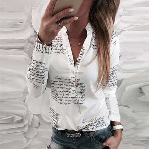 Letters Shirts&Blouses