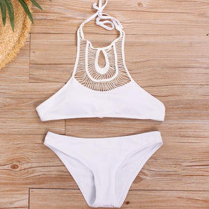 Sexy Charming Plain Bikini Swimwear