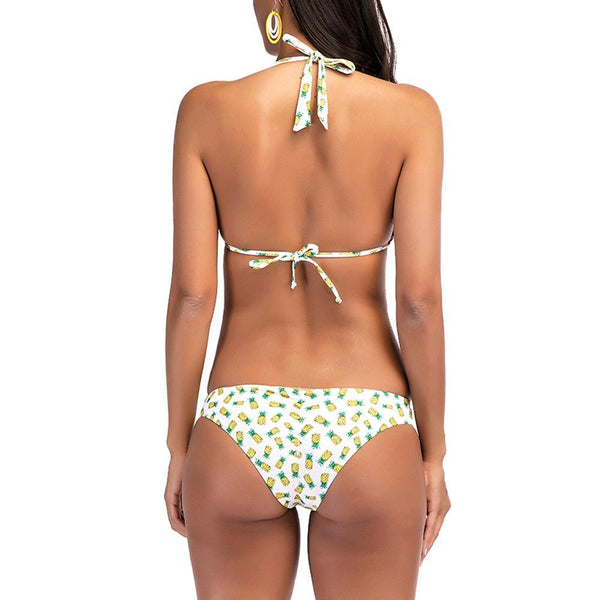 Sexy Lovely Pineapple/Watermelon Pattern Bikini
