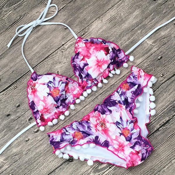 Bikini Print Sexy Fashion Swimsuit