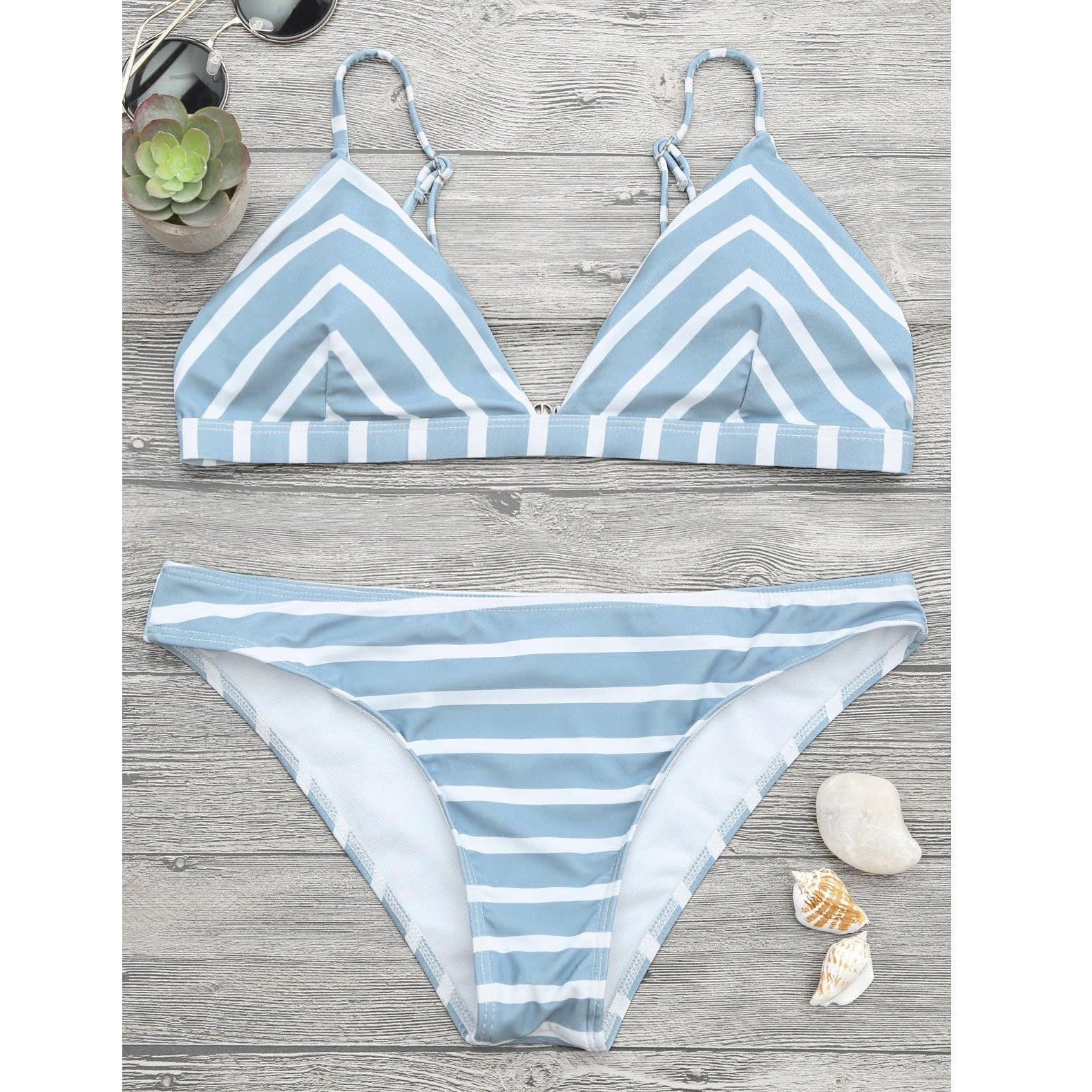 Fashion Stripe Bikini