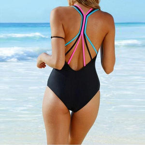 Gracybee Spaghetti Strap Plain One Piece