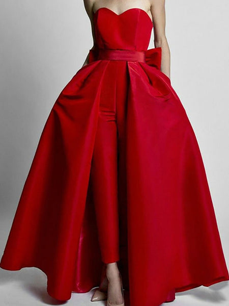 Commuting Bare Back Boat Neck Belted Pure Colour Off-Shoulder Evening Dress