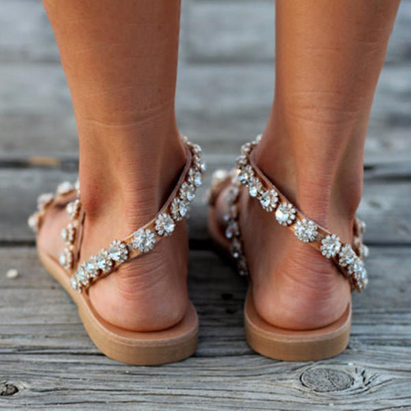Bohemian  Peep Toe  Casual Date Sandals