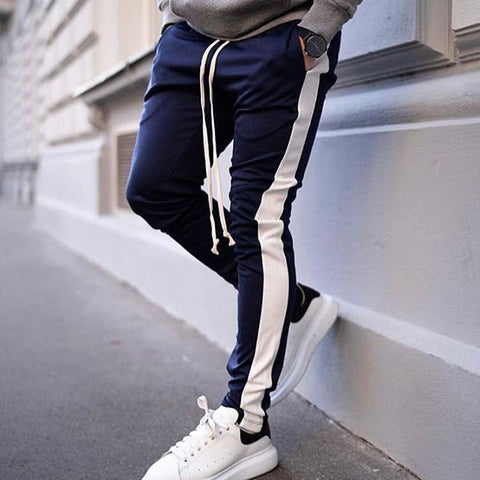Fashion Sports Leisure Splicing Pant