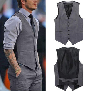 Commuting Formal Slim Fit Suit Vest