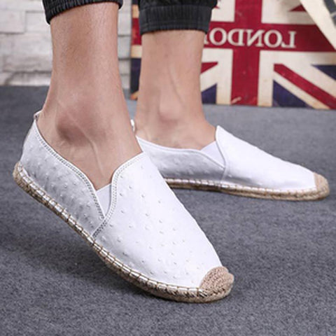 Plus Size Unisex Slip On Loafers