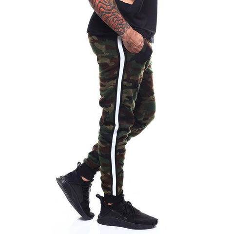 Digital printed feet pants fashion casual men's sweatpants