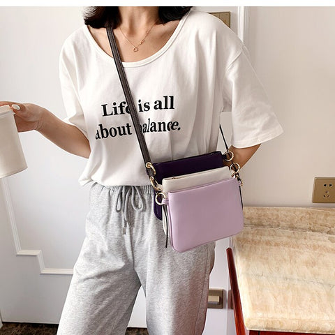 Leather Fashion Ladies Purses and Handbags Clutch Bag Women Crossbody Messenger Bag Shoulder Bag