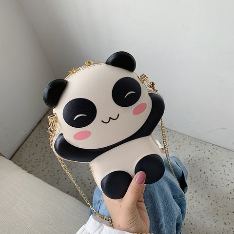 Bear Design Casual Women Shoulder Chain Bag Purses and Handbags 2020 New Crossbody Mini Bag Clutch Bag Tote Bag