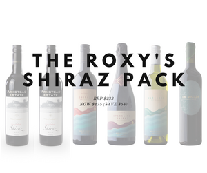 2019 Christmas Pack: Roxy's Paddock Shiraz Vertical Pack