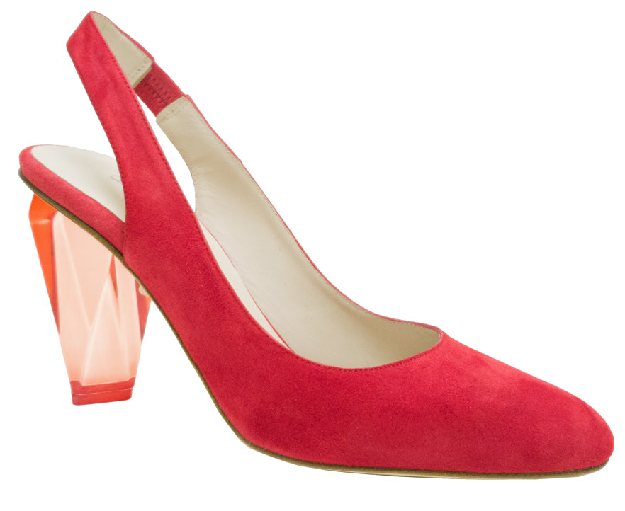 9732 - Red Suede