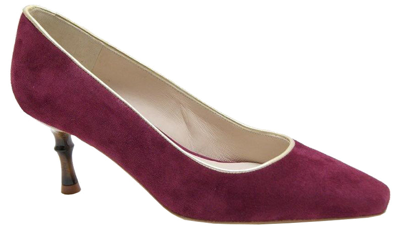Catherine - Berry Suede