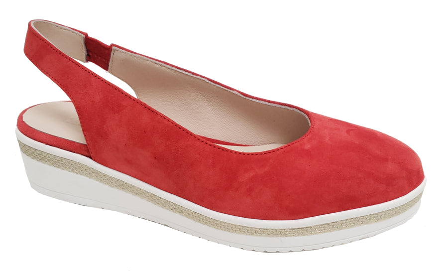 Dario - Red Suede
