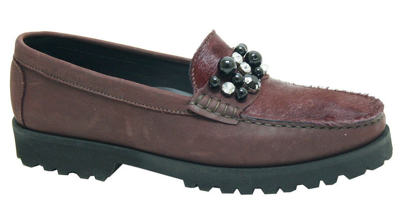 Lucy - Bordo Nubuck