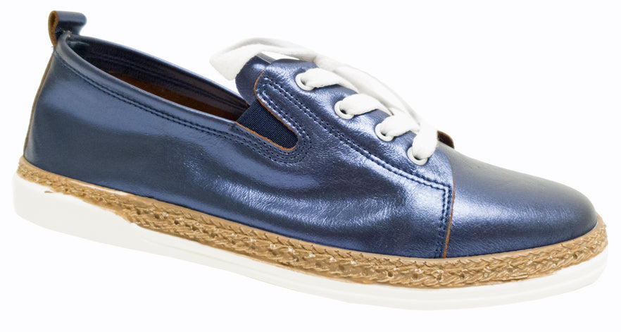 MB-9505 - Metallic Navy Leather