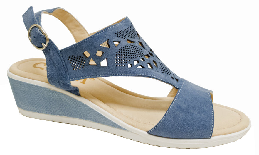 TL-9610 - Blue Jeans Suede