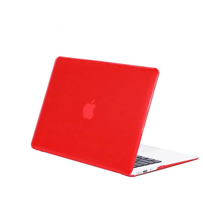 Coque cristale MacBook 15 red