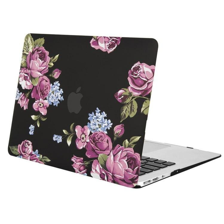 Coque MacBook Air 11 Fleur Rose