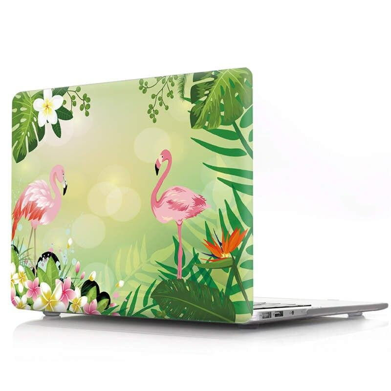Coque L'amour vert de Flamants roses MacBook Pro 13