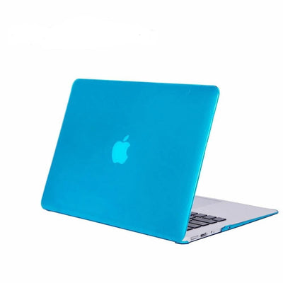 Coque cristale MacBook 15 bleu