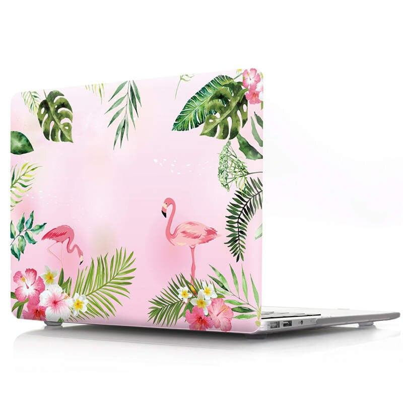 Coque MacBook Por 15 Flamingo Flamant fond rose