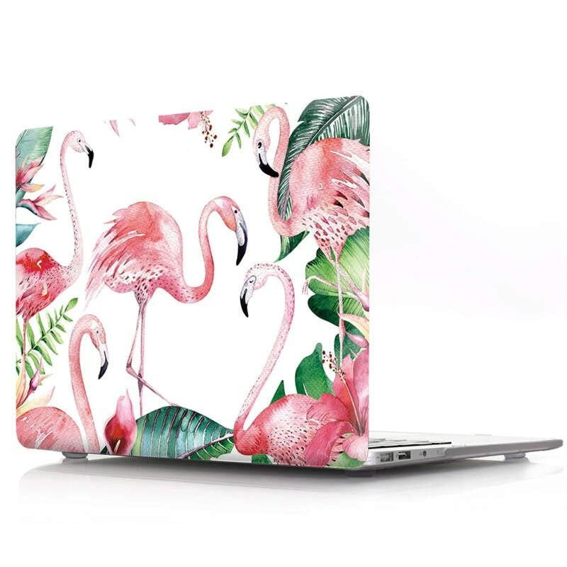 Coque Flamingo vert MacBook 15