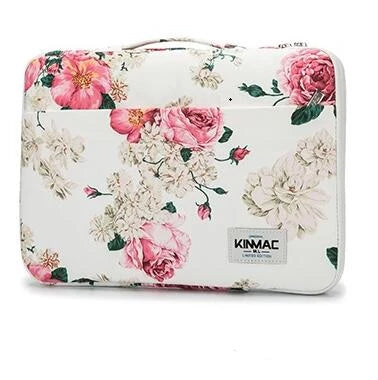 Housse florale MacBook