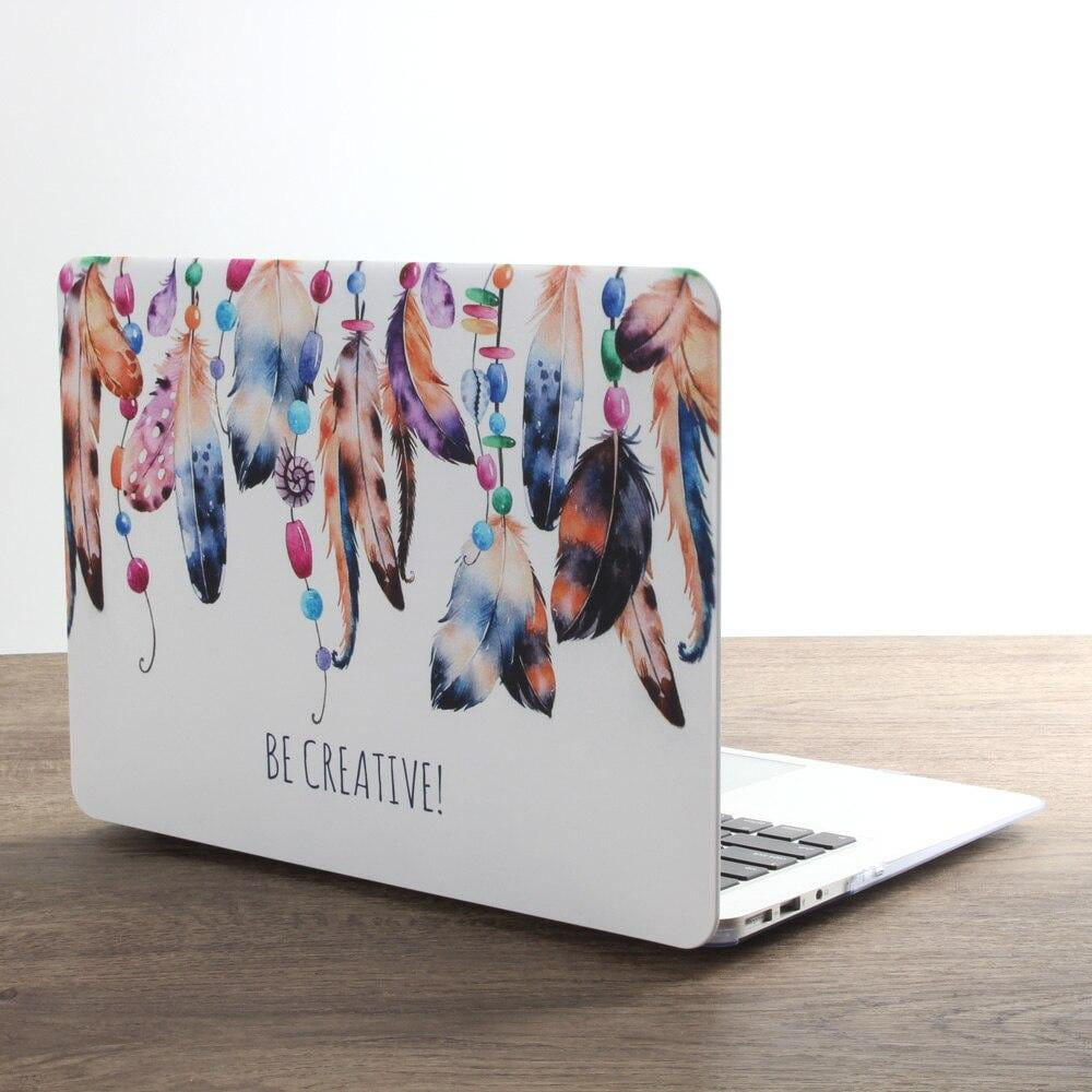 Coque plumes indiennes MacBook Air 13