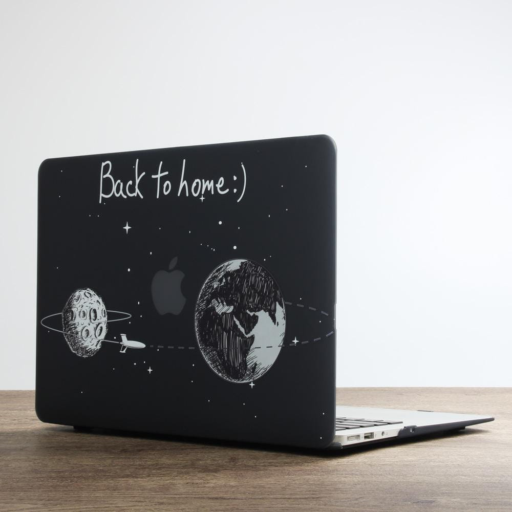 Coque Direction lune MacBook 12