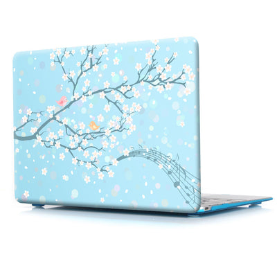 Coque de protection fleurs, japon MacBook 16