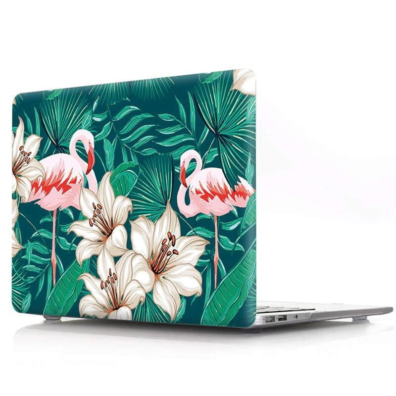 Coque MacBook Pro 15 Flamant rose/Nature/Fleur