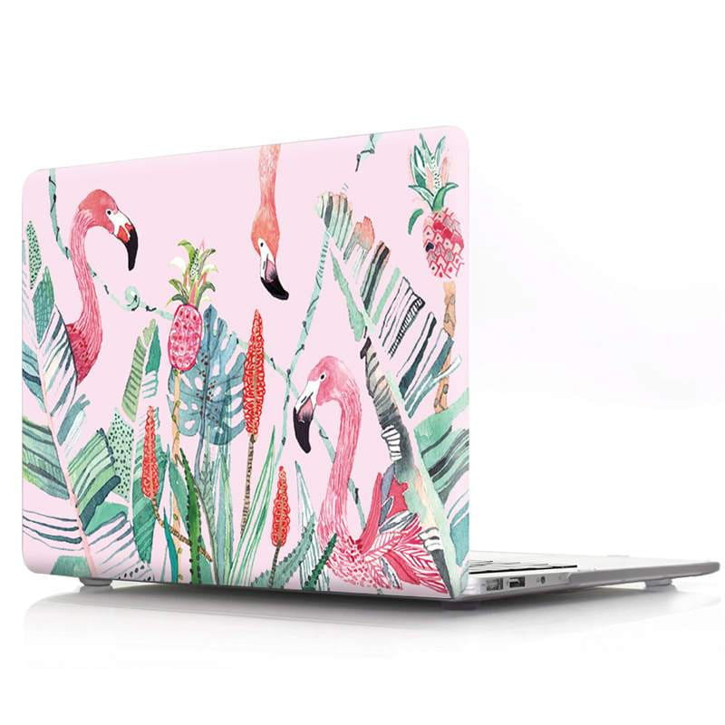 Coque Le flamant rose clinquant MacBook Pro 13