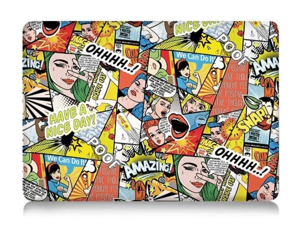 Coque graphisme cartoon MacBook Air 13