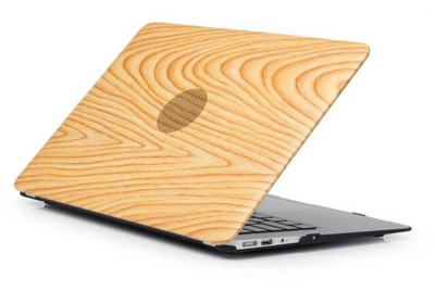 Coque MacBook air 11 en bois beige clair