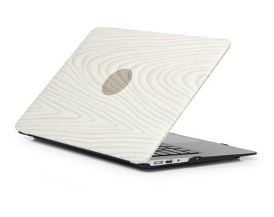Coque MacBook air 11 en bois blanc clair