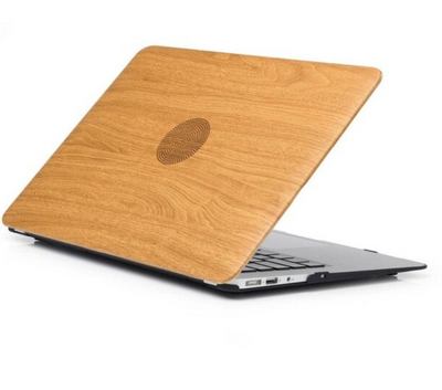 Coque MacBook air 11 en bois beigée