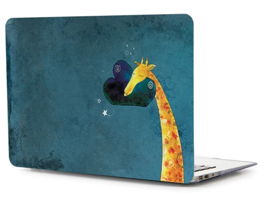 "Coque ""Girafe"" MacBook Air 11"