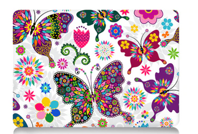 Les papillons protection macbook
