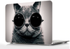 Chat à lunette protection macbook