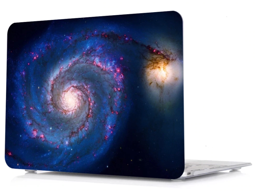 Coque univers-galaxy MacBook 12