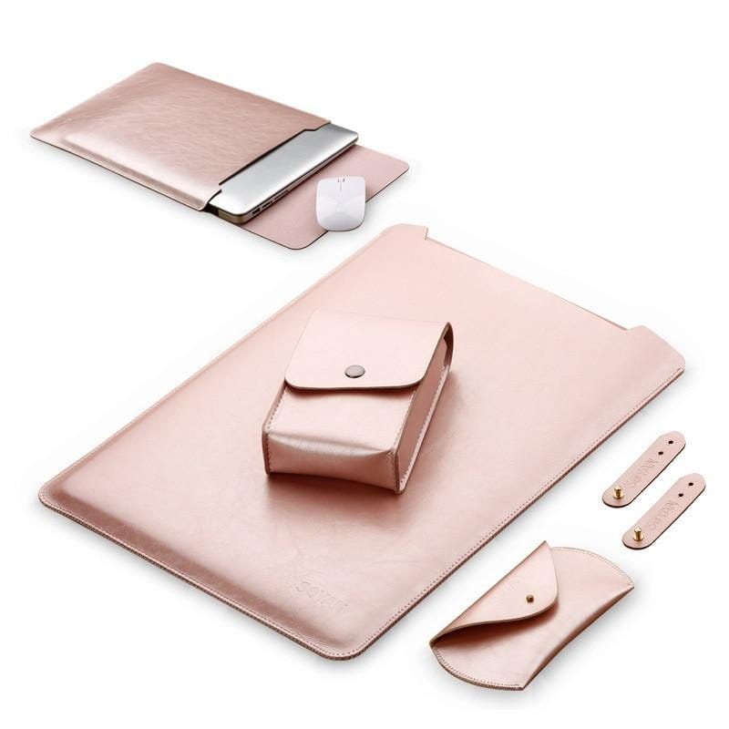 Housse en cuir MacBook