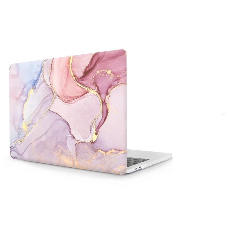 Coque de protection couleur marbre MacBook 12