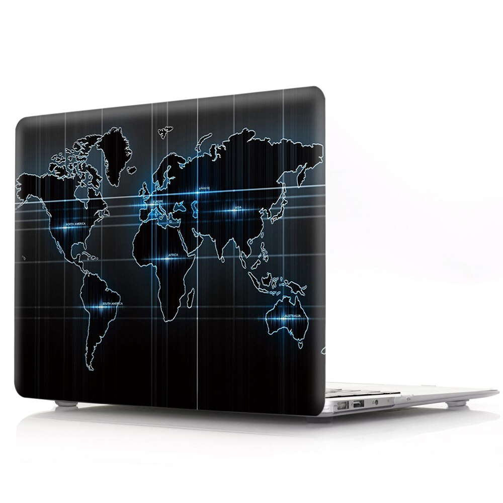 Carte du monde High Tech MacBook 16