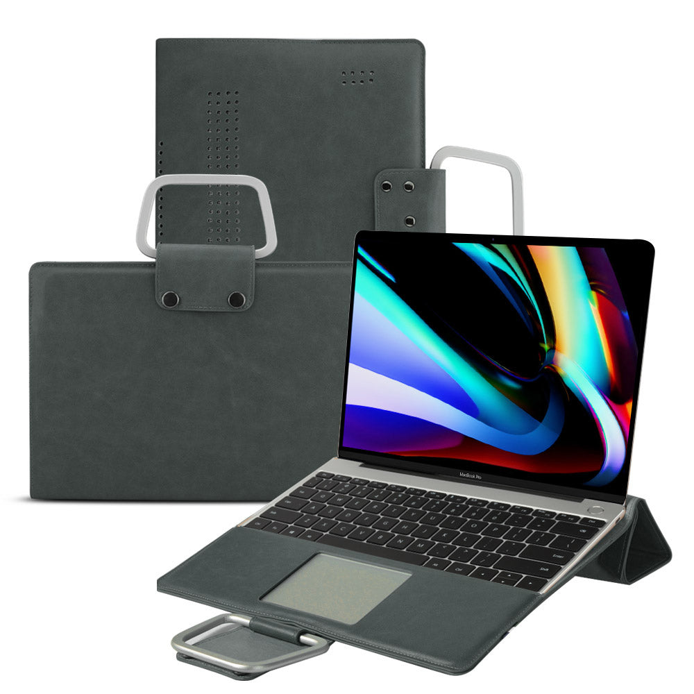 Support en cuir MacBook 16
