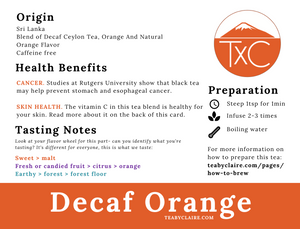 Decaf Orange