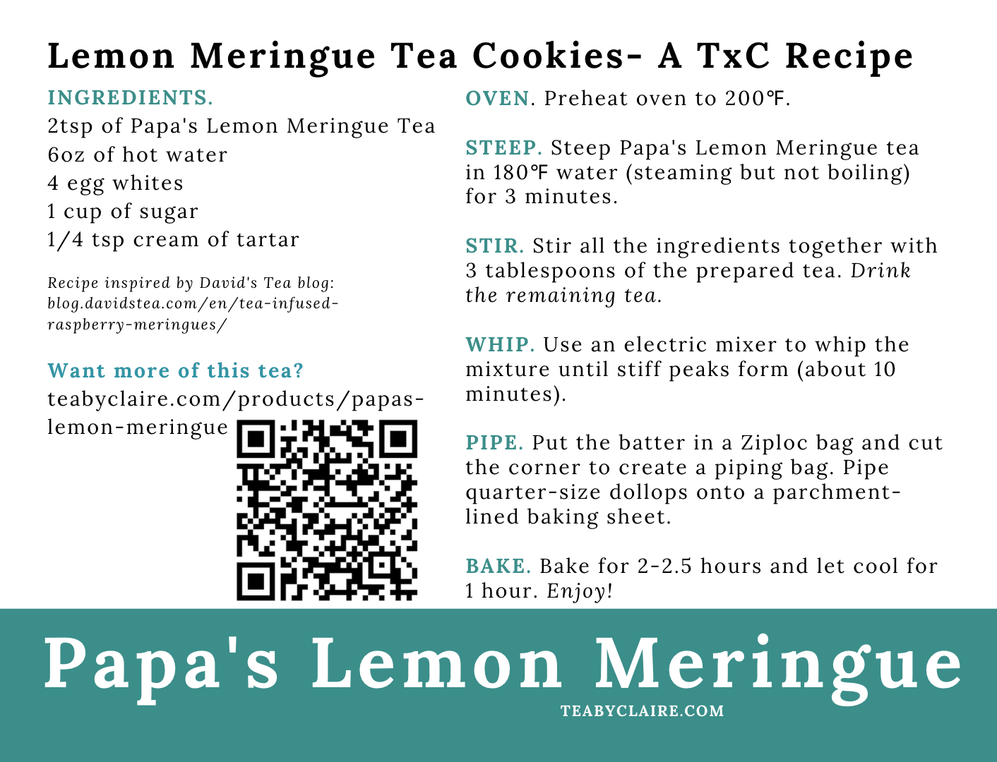 Papa's Lemon Meringue