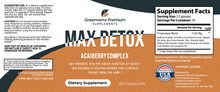 Load image into Gallery viewer, Greenverra Max Detox