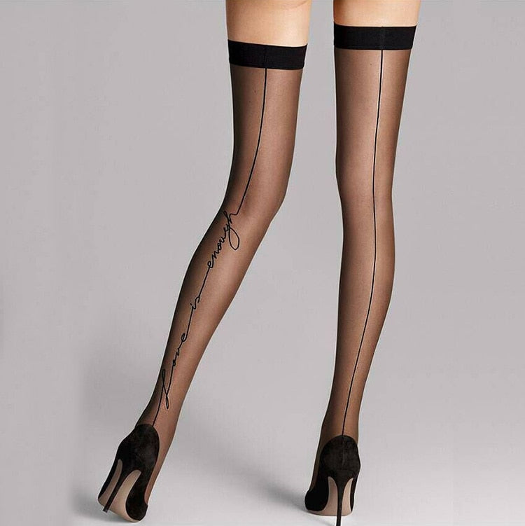 Love Letters Stay Up Thigh Stockings