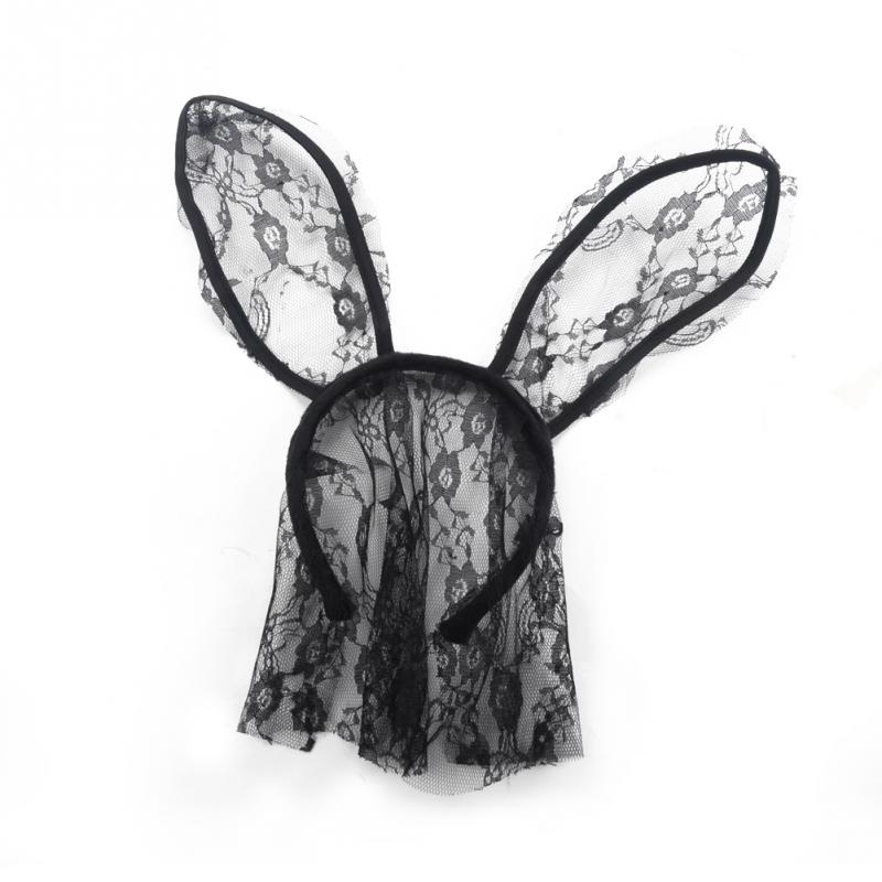 Hairbands Lace Rabbit Bunny Ears